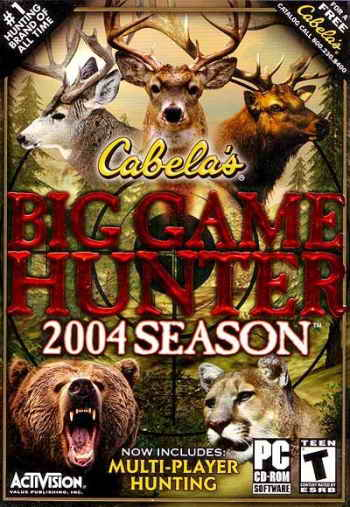 Cabela's Big Game Hunter 2004 Season (2003)